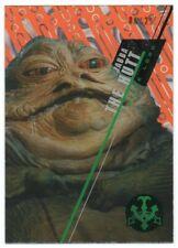 2016 Star Wars High Tek Orange Magma Diffractor #SW7 Jabba the Hutt 06/25