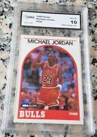 MICHAEL JORDAN 1989 NBA Hoops GEM MINT 10 Chicago Bulls HOF 6 x Champion MVP $$