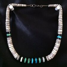 Domingo Necklace, Turquoise & Black Onyx Make An Offer ~ Vintage Santo