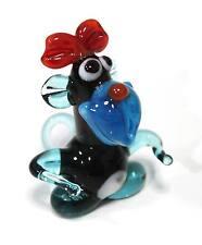 "Blown glass figurine ""Monkey"". Handmade #53"