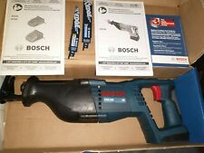 New listing Bosch 2624799 18V Lithium Ion Cordless Reciprocating Saw + Free $49.99 battery