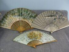 Vintage ladies Folding Hand Fans