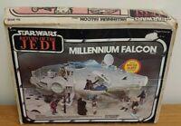 VINTAGE STAR WARS Jedi ROTJ 1980 Millennium Falcon  ORIGINAL BOX ONLY Authentic