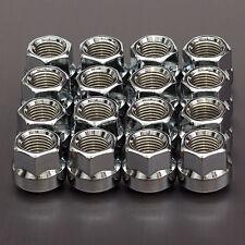 16X CHROME WHEEL NUTS M14x1.5 mm di raggio SEDILE R14 per PORSCHE