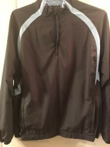 Adidas Mens XL Climaproof Wind 1/4 Zip Pullover