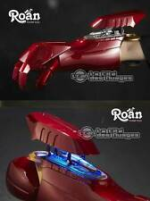 Iron Man Mark VII 7 Cosplay 1:1 Right Arm Replica light-up and sound effect Roan
