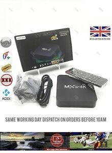 SMART TV BOX Android 10 KOD1 18.9 4K MXQ 1GB RAM 8GB ROM FILM TV SHOW SPORT