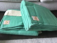 More details for vintage british wool blanket,lambswool england 78