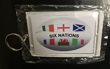 Six Nations Rugby Ball Large Brand New Keyring