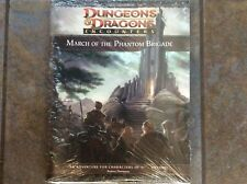 Dungeons & Dragons Encounters:  MARCH of the PHANTOM BRIGADE, new in shrink!!
