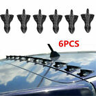 Auto Parts Accessories Car Roof Shark Fin Decorative Sticker Carbon Fiber Decors