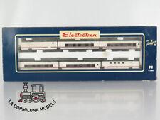 V149 ESCALA N - ELECTROTREN 7202K TALGO TREN HOTEL GRANDES LINEAS RENFE 6 COCHES