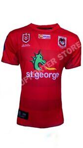 St George ILL Dragons NRL 2020 X Blades Away Jersey Sizes S-6XL!