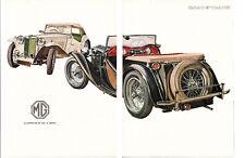 1949 MG TC ~ ORIGINAL 7-PAGE 1961 ARTICLE