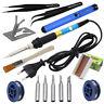 14 in 1 Electric Solder Iron Stand Tool Desolder Tweezer Welding 60W 220V Set