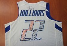 Under Armour Duke Blue Devils Jay Williams #22 Autographed Signed Jersey L ~NEW~