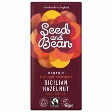 Seed & Bean   Dark Chocolate 58% Cocoa with Hazelnut 85g