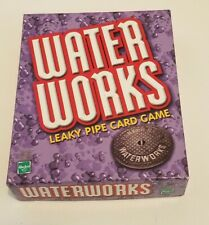 Waterworks Leaky Pipe Card Game Brand New Sealed Hasbro Parker Brothers 2002