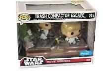 Funko Pop Movie Moments Star Wars Trash Compactor Escape #224