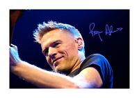 Bryan Adams A4 signed photograph poster. Choice of frame.