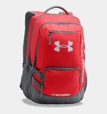 Under Armour Storm Hustle II Backpack Bag Graphite/red