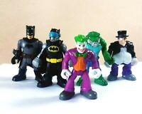 Fisher Price Imaginext DC Comics Batman And Villains Bundle x 5 Lot 2