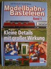 Modellbahn Basteleien - Sprechsäule Stromzapfsäule Gleiswaage .. selbst gebaut