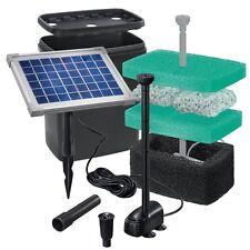 Solar Teichfilter Gr. L-1 - Teich bis 1.000 L Solarpumpe Gartenteich Pumpenset