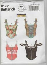 Butterick Sewing Pattern B5935 History - Miss Corsets Costume Sz 12-20