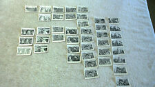 42x Various Roy Rogers Bubble Gum Trading Cards New Zealand Issue 1955