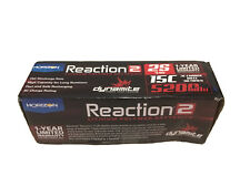HORIZON HOBBY Reaction 2 7.4V 5200mAh 2S 15C LiPo Battery DYNAMITE
