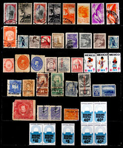MEXICO: CLASSIC ERA - 1960'S STAMP COLLECTION EXPRESS, TAX REVENUES ETC