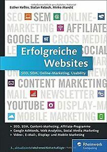 Erfolgreiche Websites: SEO, SEM, Online-Marketing, Kunde...   Buch   Zustand gut
