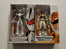 Power Rangers Lightning Mighty Morphin White Ranger & Dino White Ranger Lot Of 2