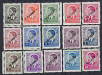 Germany occupation of Serbia 1941 King Petar II, Definitive with overprint, MH