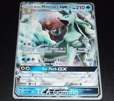 Alolan Ninetales GX 22/145 World Championship PROMO Pokemon Card NEAR MINT