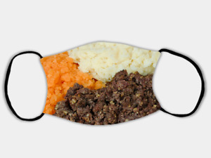 Haggis, Neeps & Tatties Adjustable Face Mask with 2 x PM2.5 Filters
