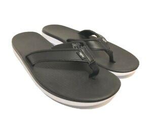 Nike Bella Kai Thong Filp Flop Women's Black/White Sz 8 FREE SHIPPING BRAND NEW