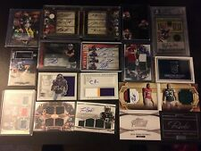 NFL Football Hot Pack! AUTO, GU, RC, Die cut, promos and more! Card lot HUGE BV$
