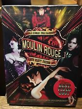 Moulin Rouge (Dvd 2001, 2-Disc Set - English/Spanish Versions) New/Sealed