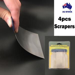 PUTTY SPREADER/METAL SCRAPER SET - 4pcs Filler Applicator