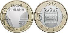 5 EURO FINLANDE 2012 UNC - UUSIMAA