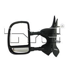TYC 3210212 Mirror Left Driver Side Manual Telescoping New Warranty