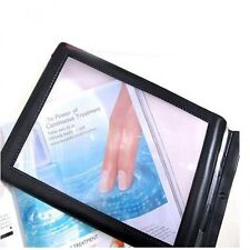 Magnifying Glass daily A4 Full Page Sheet Magnifier  Reading Aid Lens Fresnel 3X