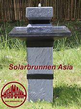 Solarbrunnen Asia Solarspringbrunnen Zengarten Brunnen Solar-Brunnen Toppreis !!