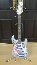 Brian Setzer Autographed Guitar - One of a Kind!