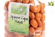 27oz Gourmet Style Bags of Delicious Japanese Cajun Peanuts [1 11/16 lb.]