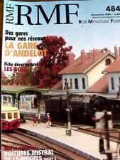 RMF Rail Miniature Flash n°484 2005 - La Gare D'Andelot - Tr.20