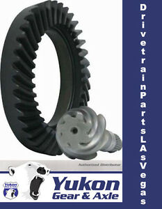 Yukon Ring & Pinion Gear Set for Dana 44 Reverse Rotation in a 5.38 Ratio Front