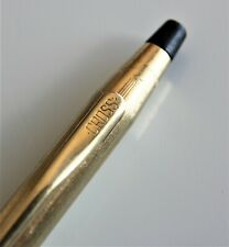 Gold filled CROSS ball pen.